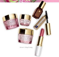 7pc Estee Lauder Gift Set Skincare Makeup Resilience Advanced Night Repair a .... $48.00. Advanced Night Repair 0.24 fl.oz + Resilience lift eye creme 0.17oz. Exclusive Cosmetic Bag featuring an original Lily Pulitzer print. Pure Color Lipstick (full size): Color Crystal Pink + Sumptuous Extreme Mascara. Resilience lift face creme 0.5 oz, SPF15. Resilience lift face night creme 0.5 oz. 1. Advanced Night Repair 0.24 fl.oz   2. Resilience lift eye creme 0.17oz   3....