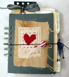 Found+Paper+Journal++One+of+a+Kind+by+Heartrocks+on+Etsy,+$28.00