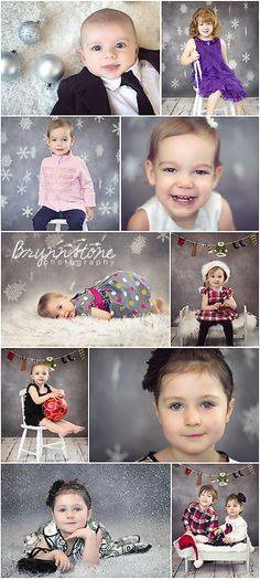Holiday Mini Sessions - Snowflakes & Ornaments | Merry Christmas