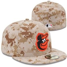 New Era Baltimore Orioles 2013 Memorial Day Stars & Stripes 59FIFTY Fitted Hat - Digital Camo
