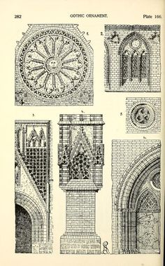 Modern Architecture Ornament styles of ornament | gothic drawnings | pinterest | ornament