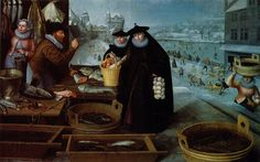 Winter by Lucas van Valckenborch, 1595 http://missfolly.tumblr.com/tagged/paintings/page/83
