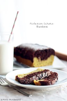 Pistazien Schoko Kuchen (pistachio chocolate cake)