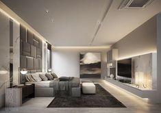 Modern Luxury Bedroom, Master Bedroom Interior, Modern Bedroom Design, Contemporary Bedroom, Luxurious Bedrooms, Home Decor Bedroom, Modern Hotel Room, Bedroom Wall, Hotels In Bangkok