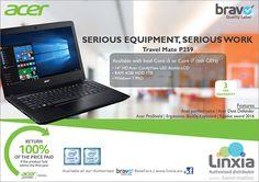 Linxia Ltd: Acer Travel Mate P259 – Serious equipment, serious work. Tel: 405 7400