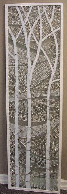birch trees ~ by Emerald Dragon (Kathleen) via Flickr