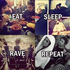 Krew <3 eat.sleep.rave.repeat