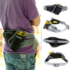 $10.79,Multi-purpose Unisex Outdoor Sports Running Waist Bag Fanny Pack Pouch with Water Bottle Holder,from tomtop global online shopping mall