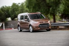 2014 Ford Transit Connect Titanium Wagon LWB First Test Photo Gallery