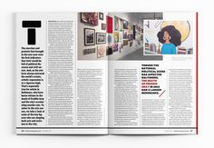 Photography by David Colwell. Magazine Layout Design, Magazine Layouts, Editorial Layout, Editorial Design, Typography Magazine, Magazine Editorial, Cbt, News Magazines, Autumn Art