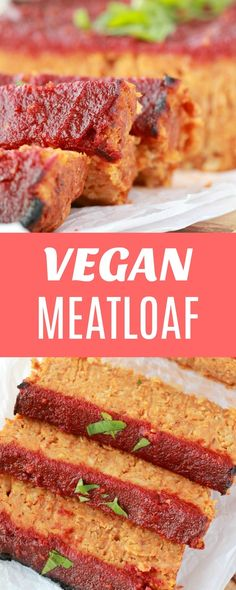 Hearty and satisfying vegan meatloaf. This deliciously simple comfort food is richly flavored and glazed with a sweet and spicy tomato sauce. Wonderful served either hot or cold. | lovingitvegan.com