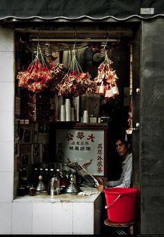 """""""Small Shop in Macau"""" by Ruben Frosali"""