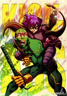 please check-out my fan-art Kick-ass n' Hitgirl at my DA, watch me emmshin.deviantart.com, thank you and have a great day!