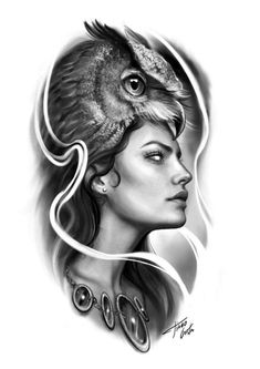 Grey Tattoo, Ozzy Tattoo, Face Tattoos, Tattoo Sleeve Designs, Girl Face Drawing, Chicano Tattoos Sleeve, Black And Grey Tattoos, Black Tattoos, Tattoo Designs