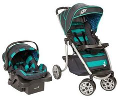 Graco LiteRider LX Travel System Daphne Baby Mom New Stroller Car Seat Safe
