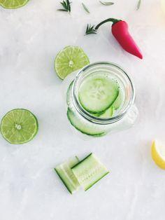 Cucumber Spa Water