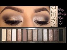 5 Tutorials Using the Urban Decay Naked 2 Palette | You Put It On