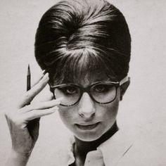 Barbra Streisand - geek chic. Sanctuary Cove Optical www.sanctuarycoveoptical.com.au