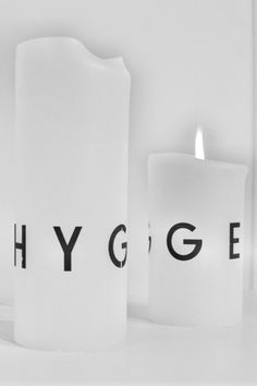 'Hygge' Candles
