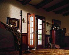 400 Series Frenchwood® hinged patio door - inswing
