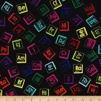 RJR Fabric Geekery Science Smart Nerd Math Glasses Quilt Fabric 9 FQ Fat Quarter