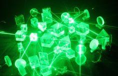 Quantum physics inside a drop of paint