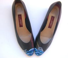 Love hand painted shoes.