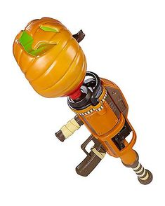 Light-Up Pumpkin Launcher with Sound - Fortnite - Instead of smashing pumpkins, you'll be smashing down structures this Halloween with this officially licensed Fortnite Pumpkin Launcher. Halloween News, Halloween Home Decor, Halloween House, Spirit Halloween, Halloween Costumes For Kids, Scary Halloween, Halloween Decorations, Pistola Nerf, Light Up Pumpkins