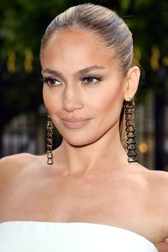 Jennifer Lopez with Atelier Versace earrings