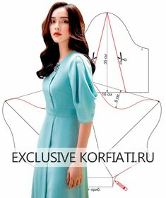 Discover recipes, home ideas, style inspiration and other ideas to try. Dress Sewing Patterns, Blouse Patterns, Clothing Patterns, Blouse Designs, Sewing Sleeves, Sleeves Designs For Dresses, Fashion Sewing, Sewing Clothes, Pattern Fashion