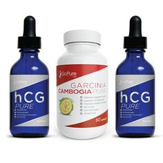 Looking to lose weight and manage your appetite? These hCG diet Drops come with a  free bottle of Garcinia 1000. These amazing drops will help you less hunger cravings and desires to snack between meals, despite undergoing a restrictive- calorie diet.  They will also help you maintain your diet and improve your motivation to continue.  These drops are all natural and gluten free! Purchase these now and achieve your weight loss goal!