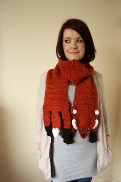 fox scarf!