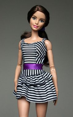 https://flic.kr/p/BNEh1k | Made to Move Barbie Teresa | All fashionista clothes fit this doll and it was such a fun to redress her. She looks cute in anything you put on her :)