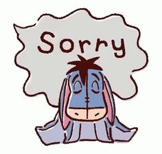 The perfect Sorry Apologize Eeyore Animated GIF for your conversation. Discover and Share the best GIFs on Tenor. Winnie The Pooh Gif, Winnie The Pooh Drawing, Eeyore, Tigger, Speech Balloon, Arte Disney, Animation, Pooh Bear, Disney Quotes
