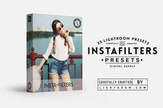 Instagram filters for Lightroom by Lightgram.com on @creativemarket  Best professional lightroom presets packs for more modern and trendy style in your photography. Perfect for portrait, wedding, landscape, urban, travel, creative, blogging. #lightroompresets #lightroom #free #presets #portrait