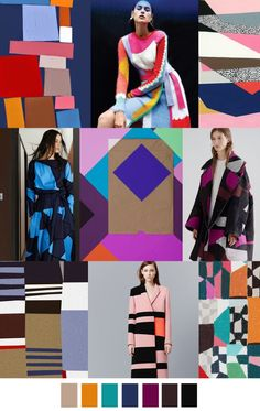 FASHION VIGNETTE: TRENDS // PATTERN CURATOR - GRAPHIC PATTERNS . SS 2016