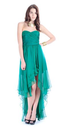 Ivy Emerald Gown by ARIELLA @girlmeetsdress