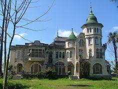 La Casa de la Cúpula Verde. Luarca, Asturias