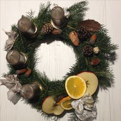 Adventní věnec Advent wreath