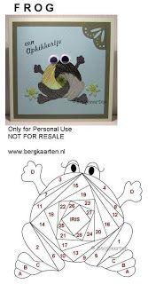 Irisvouwen: Frog