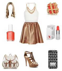 """""""Alyssa's Outfit #22"""" by lewiscooke ❤ liked on Polyvore featuring N°21, Pacha, Isolá, Tory Burch, Uslu Airlines, Essie, MICHAEL Michael Kors, Michael Kors, women's clothing and women"""