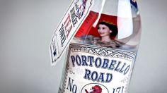 Portobello Road Gin 171 by Analogue , via Behance