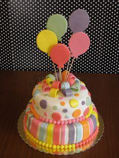 Kızımın doğum günü pastası