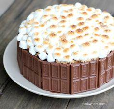S'mores Cake Recipe