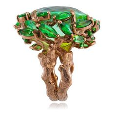 Ethiopian trees and green tourmalines. Lydia Courteille gives us the Queen of…