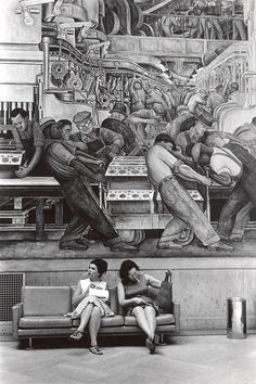 Diego Rivera - Detroit Industry. Rivera completed the twenty-seven panel work in eleven months, from April 1932 to March 1933. It is considered the finest example of Mexican mural art in the United States, and the artist thought it the best work of his career.