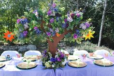 A Pixie Hollow Garden Birthday Party | Magical Day Parties | A Fan Site Celebrating Disney Themed Events