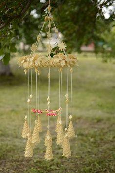 """Windspiele - Handmade Wind Chime """"Vogel des Glücks"""" - ein Designerstück von EthnischeGeschenke bei DaWanda"""