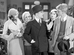 """Patricia Ellis, James Cagney, and Sterling Holloway in """"Picture Snatcher"""" (1933)"""