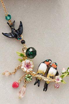 Colar pássaros - Lovebird
